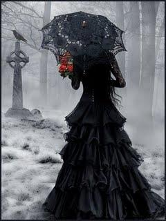 A Bride in black