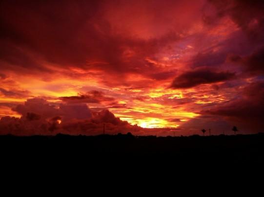 nadhirul maghfiroh sunset
